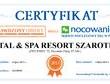 """Certyfikat """"Sprawdzony Obiekt 2013"""" gwarancją noclegu"""
