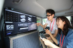 Samsung engineers prepare for 5G test on race track - 1.jpg