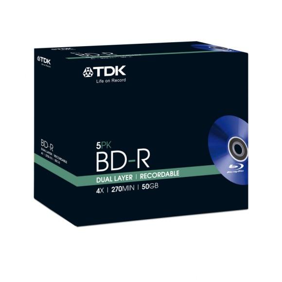 TDK: Podwójna pojemność Blu-ray LIFESTYLE, IT i technologie - Płyty Blu-ray to doskonałe nośniki do przechowywania dużych ilości danych. W porównaniu do tradycyjnych CD i DVD cechuje je dużo większa pojemność i wytrzymałość, a w przypadku archiwizacji są dużo poręczniejsze od popularnych pendrive'ów czy dysków przenośnych.