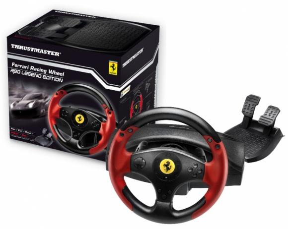 Poczuj moc Ferrari z kierownicą od Thrustmaster LIFESTYLE, IT i technologie - Thrustmaster Ferrari Racing Whell - Red Legend to innowatorska kierownica przygotowana specjalnie z myślą o miłośnikach motoryzacji. Kontroler stworzony na licencji Ferrari to nie tylko doskonały gadżet, ale również jedna z ciekawszych propozycji kierownic gamingowych na rynku.
