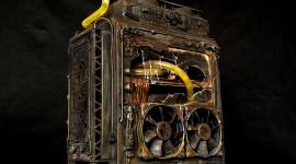 Czy tak będą wyglądały postapokaliptyczne komputery? LIFESTYLE, IT i technologie - Skorodowana, metalowa obudowa, pęknięta szyba boczna i dziury po kulach na przedniej ścianie przywołują postapokaliptyczne klimaty serii Fallout czy Mad Max. Tak wygląda jeden z moddów biorący udział w Case Mod World Series 2016. Autorem projektu jest Polak.