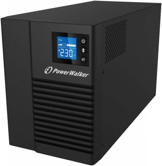 PowerWalker: UPS do zadań specjalnych LIFESTYLE, IT i technologie - VI 1000 T/HID to UPS o topologii Line-Interactive, o mocy rzeczywistej wynoszącej 700 W. Zasilacz, poza regulatorem napięcia AVR, wyposażono w moduł dwóch baterii o pojemności 7Ah, charakteryzujących się krótkim czasem ładowania (3h do 90% pojemności).