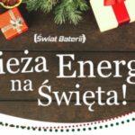 Świeża Energia na Święta!