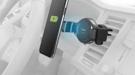 """Ładowarka indukcyjna i uchwyt do smartfona w jednym, czyli """"Hama FC-10C Flex"""" LIFESTYLE, IT i technologie - Hama wprowadza do oferty uchwyt samochodowy z funkcją bezprzewodowego ładowania smartfonów za pomocą technologii Qi. To bardzo wygodne, a zarazem proste w obsłudze rozwiązanie, które szczególnie docenią osoby spędzające dużo czasu w trasie."""