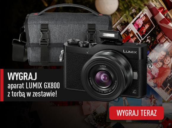 Ruszył świąteczny konkurs Panasonic – wygraj aparat Lumix GX800 LIFESTYLE, IT i technologie - Uwieczniaj ważne chwile i baw się fotografią! Weź udział w konkursie Panasonic w terminie do 10 grudnia 2020 roku, by wygrać elegancki i stylowy aparat swoich marzeń LUMIX GX800 wraz z torbą DMW-PS10 w zestawie.