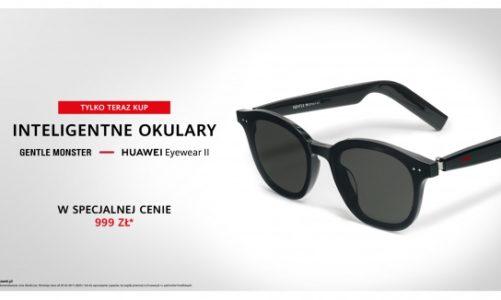 Inteligentne okulary Huawei x Gentle Monster Eyewear II już w Polsce