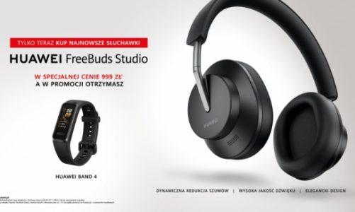Huawei FreeBuds Studio już w Polsce